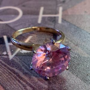 Vintage Sterling 925 women's Amethyst Ring